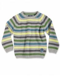 Детски пуловер в сиво за момче Blue Seven