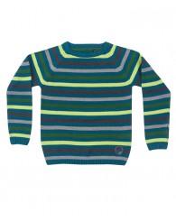Детски пуловер в петрол за момче Blue Seven