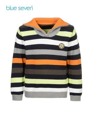 Blue Seven Детски пуловер в сиво за момче