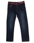 ZIPPY Детски дънки с текстилен червен колан