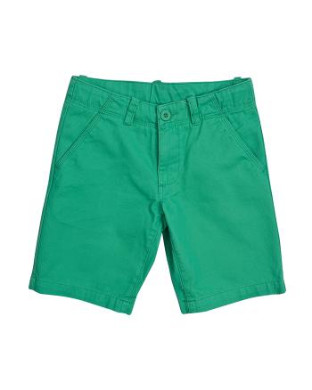 Прави къси панталони в зелено ZIPPY