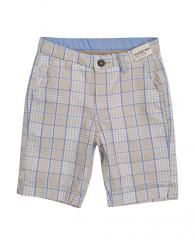Карирани къси панталони в бежово ZIPPY