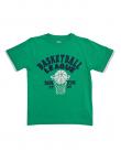 Зелена блуза с баскетболна щампа ZIPPY