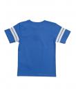 Синя блуза със спортна щампа ZIPPY