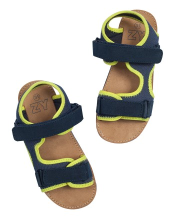 ZIPPY Сини момчешки сандали