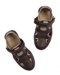 ZIPPY Кафяви момчешки обувки