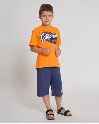 Оранжев памучен комплект ZIPPY