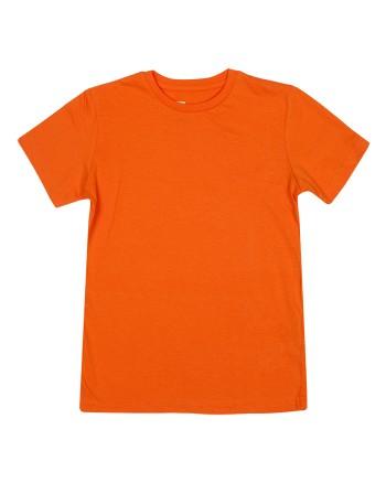 Оранжева тениска с къс ръкав за момче ZIPPY