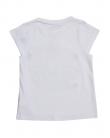 Бяла блуза с щампа цветя ZIPPY