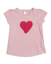 Розова блуза със сърце ZIPPY