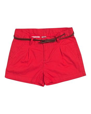 Детски червени къси панталони ZIPPY