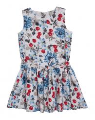 Пъстра елегантна рокля ZIPPY