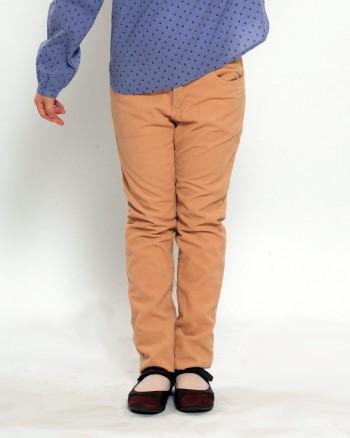 Бежови джинси за момиче ZIPPY