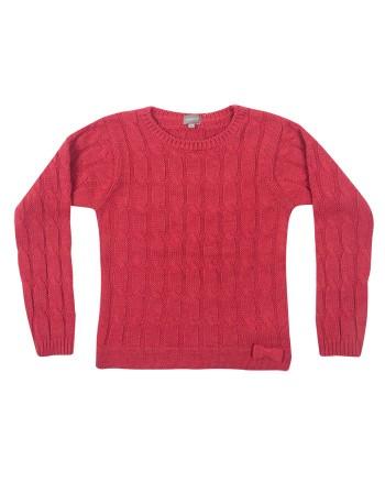 Розов пуловер за момиче ZIPPY