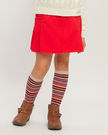 ZIPPY Червена пола с плохи